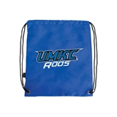 Royal Drawstring Backpack-UMKC Roos