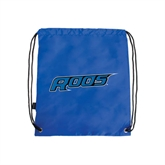 Royal Drawstring Backpack-Roos