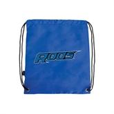 Nylon Royal Drawstring Backpack-Roos