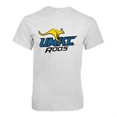 White T Shirt-UMKC Roos w/Roo