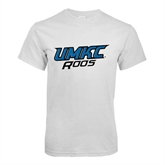 White T Shirt-UMKC Roos