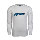 White Long Sleeve T Shirt-Roos