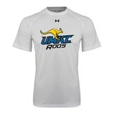 Under Armour White Tech Tee-UMKC Roos w/Roo