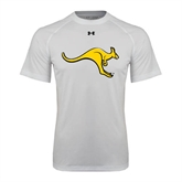 Under Armour White Tech Tee-Roo