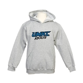 Youth Grey Fleece Hood-UMKC Roos