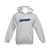 Youth Grey Fleece Hood-Roos