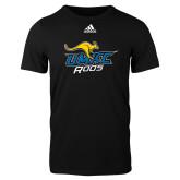 Adidas Black Logo T Shirt-UMKC Roos w/Roo