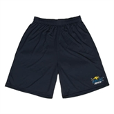 Syntrel Performance Black 9 Inch Length Shorts-UMKC Roos w/Roo