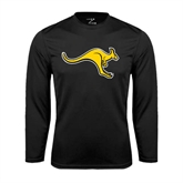 Performance Black Longsleeve Shirt-Roo