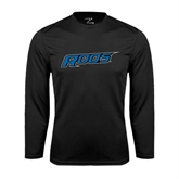 Performance Black Longsleeve Shirt-Roos