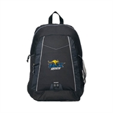 Impulse Black Backpack-UMKC Roos w/Roo
