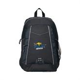Impulse Black Backpack-UMKC Roos w/Roo
