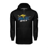 Under Armour Black Performance Sweats Team Hoodie-UMKC Roos w/Roo