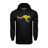 Under Armour Black Performance Sweats Team Hoodie-Roo