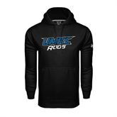 Under Armour Black Performance Sweats Team Hoodie-UMKC Roos