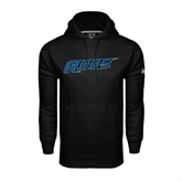 Under Armour Black Performance Sweats Team Hoodie-Roos