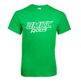 Kelly Green T Shirt-UMKC Roos