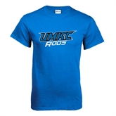 Royal T Shirt-UMKC Roos