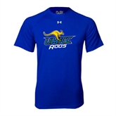 Under Armour Royal Tech Tee-UMKC Roos w/Roo