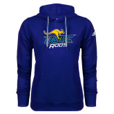 Adidas Climawarm Royal Team Issue Hoodie-UMKC Roos w/Roo