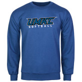 Royal Fleece Crew-Softball