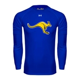 Under Armour Royal Long Sleeve Tech Tee-Roo