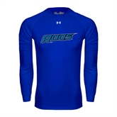 Under Armour Royal Long Sleeve Tech Tee-Roos