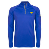 Under Armour Royal Tech 1/4 Zip Performance Shirt-Roo