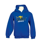 Youth Royal Fleece Hood-UMKC Roos w/Roo