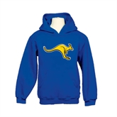 Youth Royal Fleece Hoodie-Roo