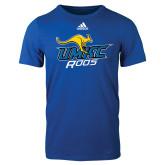 Adidas Royal Logo T Shirt-UMKC Roos w/Roo