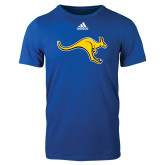 Adidas Royal Logo T Shirt-Roo