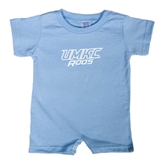 Light Blue Infant Romper-UMKC Roos