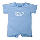 Light Blue Infant Romper-UMKC Roos