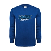 Royal Long Sleeve T Shirt-UMKC Roos