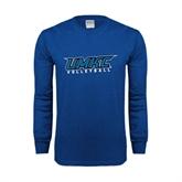 Royal Long Sleeve T Shirt-Volleyball