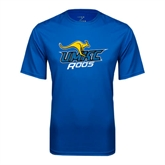Performance Royal Tee-UMKC Roos w/Roo