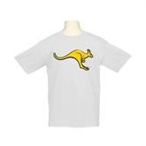 Youth White T Shirt-Roo