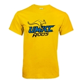 Gold T Shirt-UMKC Roos w/Roo