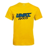 Gold T Shirt-UMKC Roos