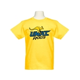 Youth Gold T Shirt-UMKC Roos w/Roo