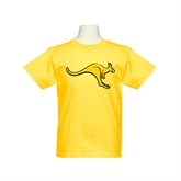Youth Gold T Shirt-Roo