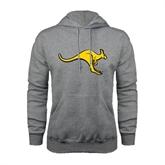 Grey Fleece Hood-Roo