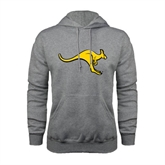 Grey Fleece Hoodie-Roo