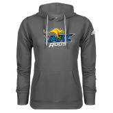 Adidas Climawarm Charcoal Team Issue Hoodie-UMKC Roos w/Roo
