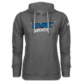 Adidas Climawarm Charcoal Team Issue Hoodie-UMKC Roos
