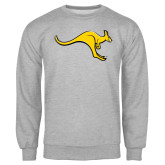Grey Fleece Crew-Roo