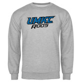 Grey Fleece Crew-UMKC Roos