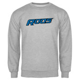 Grey Fleece Crew-Roos