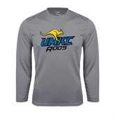 Syntrel Performance Steel Longsleeve Shirt-UMKC Roos w/Roo